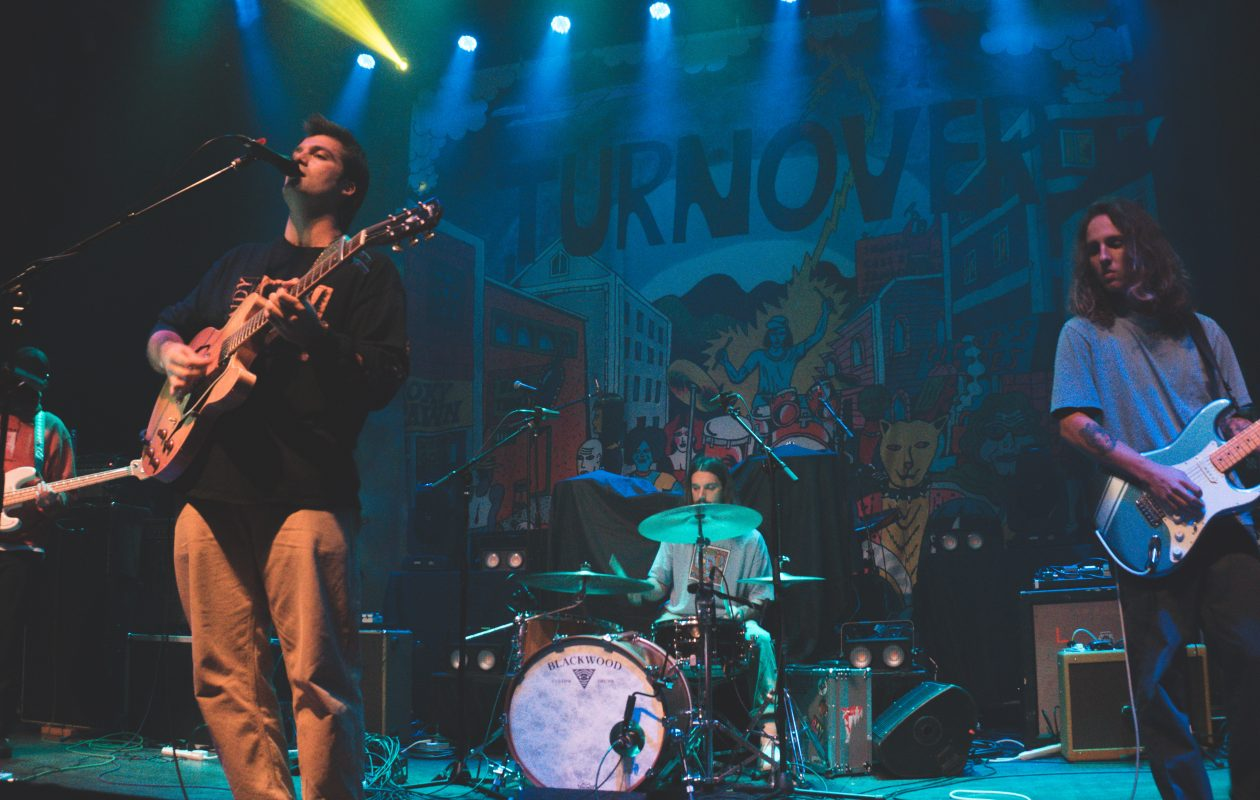 Turnover was part of a four-band bill at Town Ballroom. (Photo by Dan Almasi)