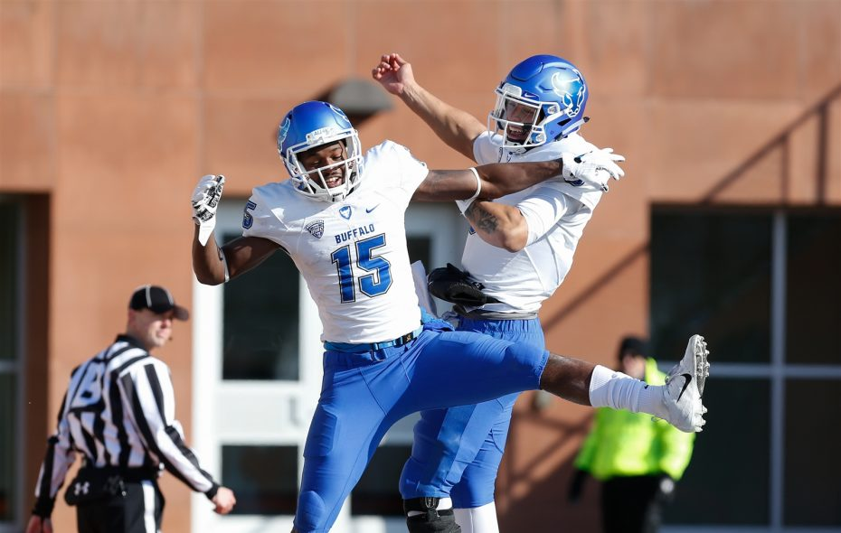 The Buffalo football team faces Troy at 7 p.m. Saturday in the Dollar General Bowl in Mobile, Ala. (Scott W. Grau/Special to The News)