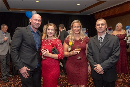 See who attended the Red, White and Blue Gala for WNY Heroes on Friday, Nov. 9, 2018, in the Seneca Niagara Events Center. The formal event was sold out and a quality way to recognize Veterans Day Weekend.
