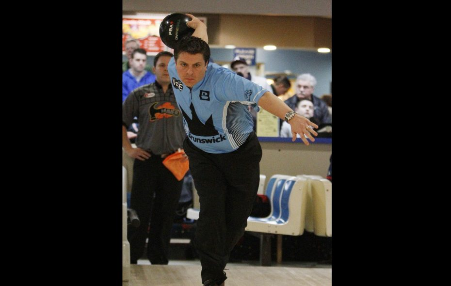 Brad Angelo, shown in a 2011 file photo, has been inducted into the Greater Buffalo USBC Association Hall of Fame. (Mark Mulville/Buffalo News file photo)