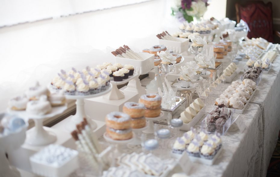 Marisa Battaglia of B Sweet Designs will dream up a dessert table fit for any style and taste.  (Alyissa Landri Photography)
