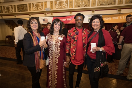 The International Institute of Buffalo hosted its annual Buffalo Without Borders, with this year representing its Centennial celebration, on Thursday, Nov. 8, 2018. Local restaurants, vendors and musicians showcased the variety of culture that Buffalo has been blessed with through immigrants and refugee communities.