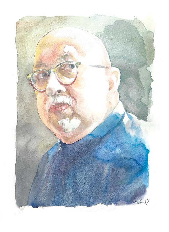 (Portrait by Peter Seward)