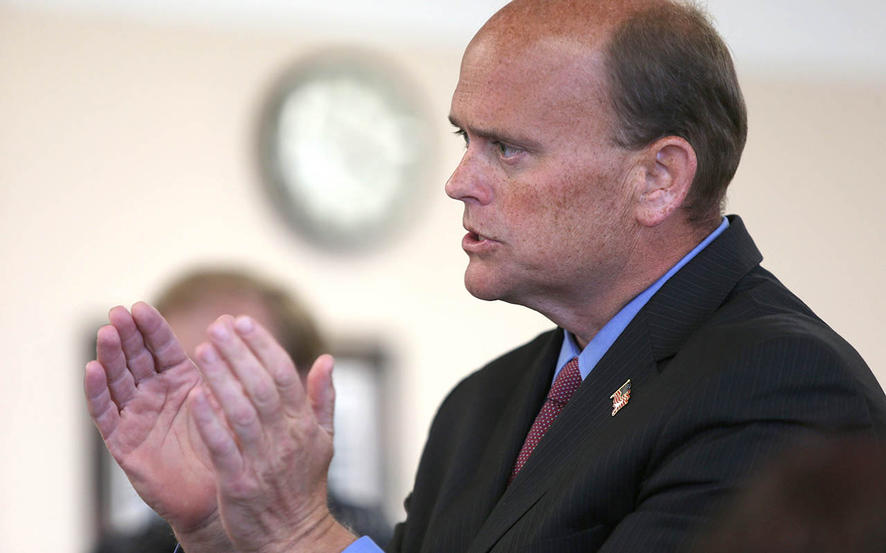 Rep. Tom Reed collapses before TV interview in Washington, D.C.