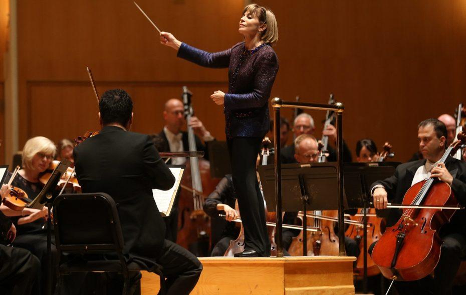 JoAnn Falletta has been the BPOs music director since 1999. (Sharon Cantillon/Buffalo News)