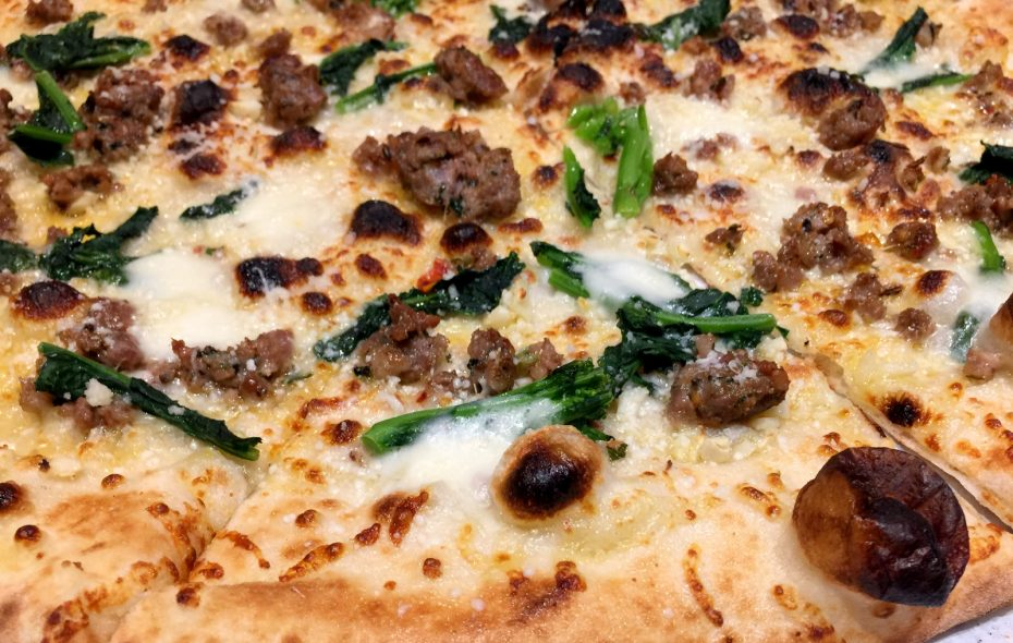 Pizza is just the beginning at Forno Napoli. (Andrew Galarneau/Buffalo News)