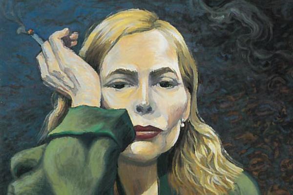 (Self portrait by Joni Mitchell)
