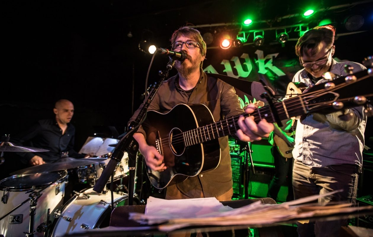 Lazlo Hollyfeld, the project of Sonny Baker, will play the music of the Talking Heads in McGarret's. (Chuck Alaimo/Special to The News)