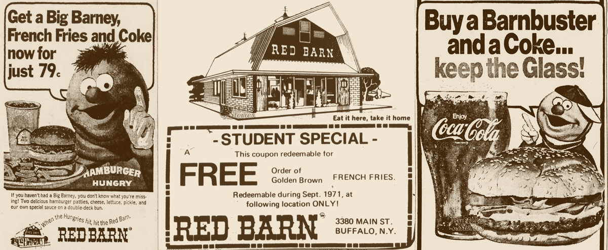 Buffalo in the 1970s: Fast-food joint Red Barn was 'for when
