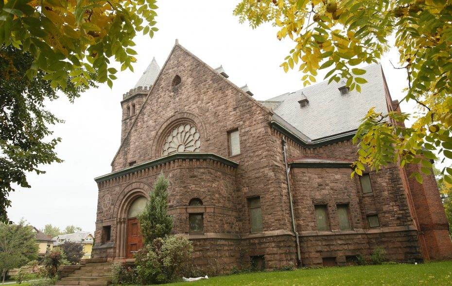 The former Richmond Methodist Episcopal Church at 467 Richmond Ave. (Derek Gee/News file photo)