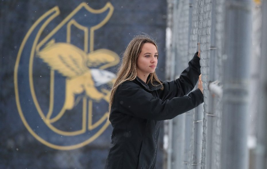 Disowned for being gay, Canisius athlete Emily Scheck will