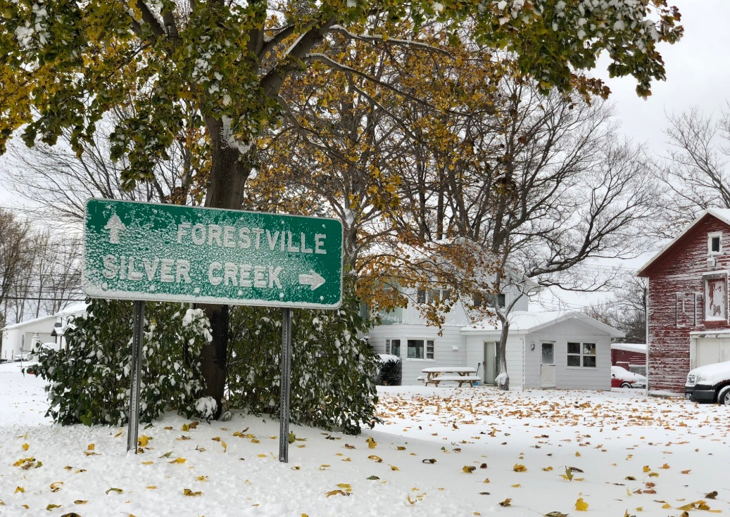 Perrysburg, Springville, East Aurora among leaders for lake-effect snowfall