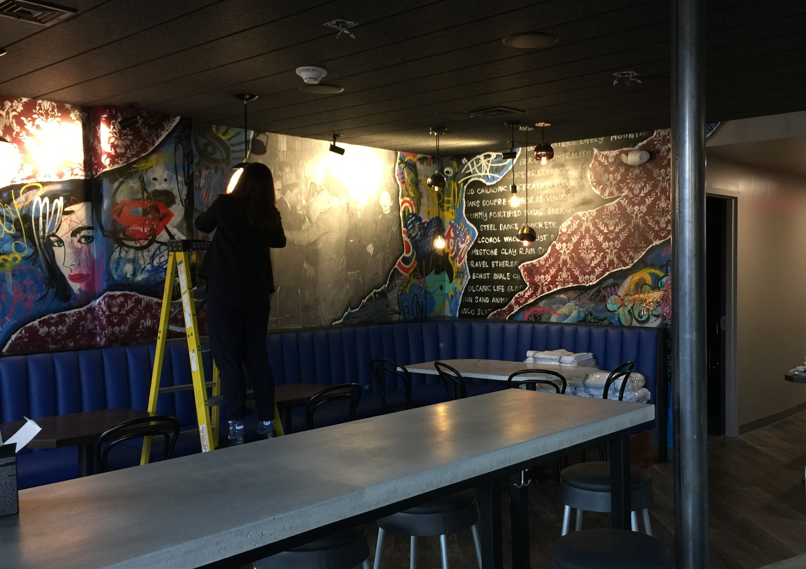 The little club lombardo wine bar on hertel sets opening - The little club ...