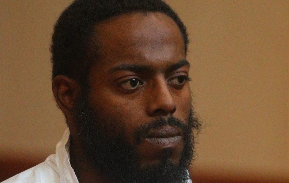 Travis Green during his arraignment in Cheektowaga Town Court on Nov. 15, 2017. (John Hickey/News file photo)