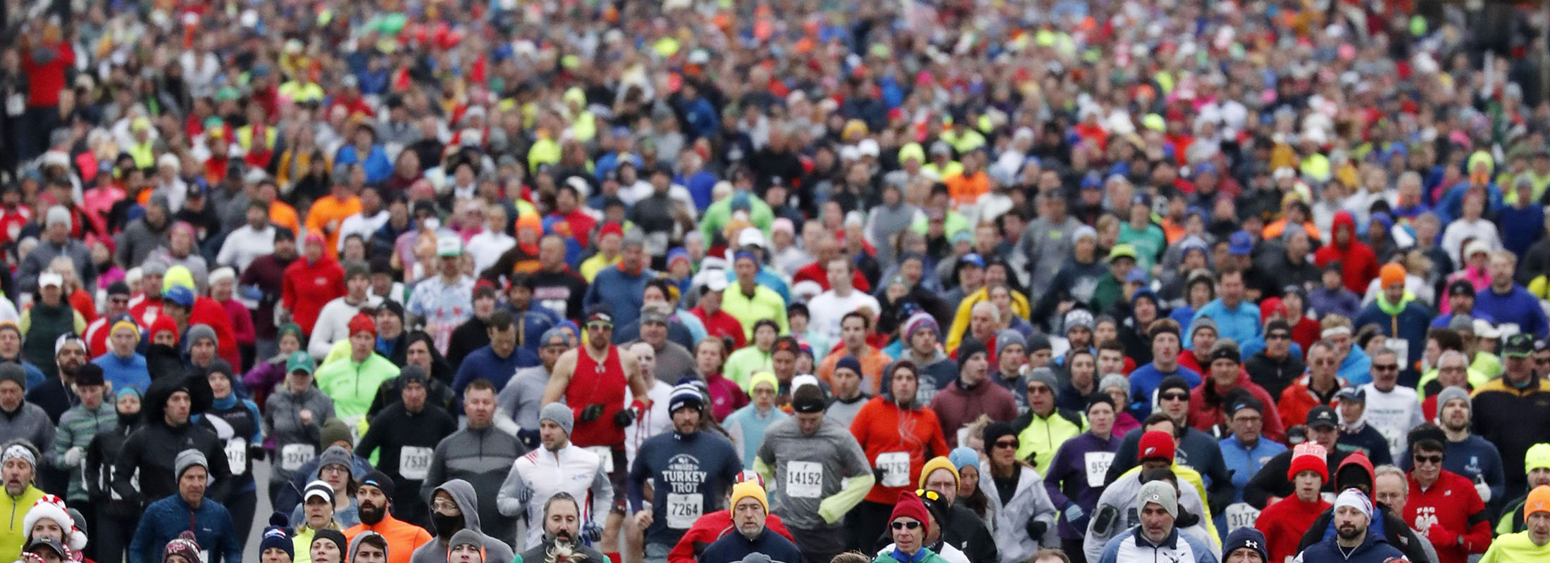 It'll be a chilly Turkey Trot in Buffalo this year, National Weather Service forecasts show. (Mark Mulville/News file photo)
