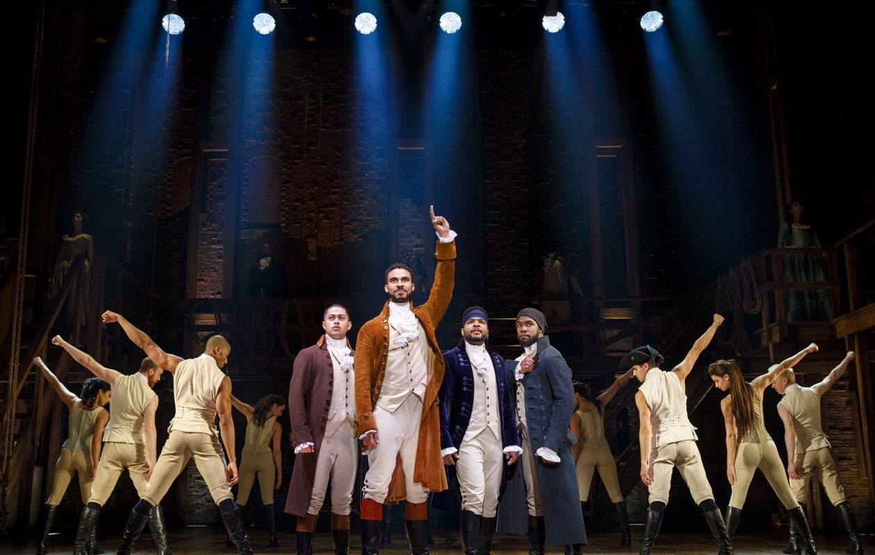 'Hamilton' has helped boost season subscriber sales at Shea's Buffalo Theatre. (Photo by Joan Marcus)