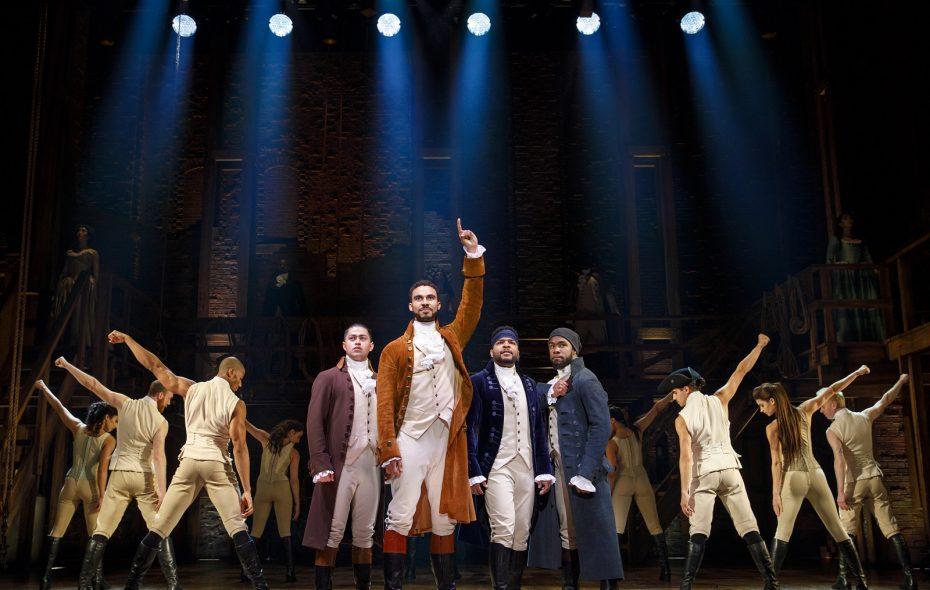 """Hamilton"" has helped boost season subscriber sales at Shea's Buffalo Theatre. (Photo by Joan Marcus)"