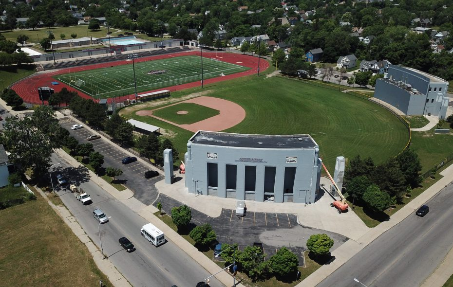 The Johnnie B. Wiley Sports Pavilion is one of four proposed sites for a new indoor sports field house in Buffalo. (John Hickey/News file photo)