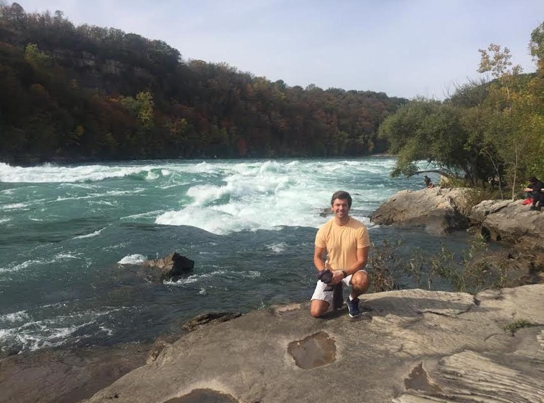 Alex Miecyjak on a hike down the Niagara Gorge last summer. (Photo courtesy of Alex Miecyjak)