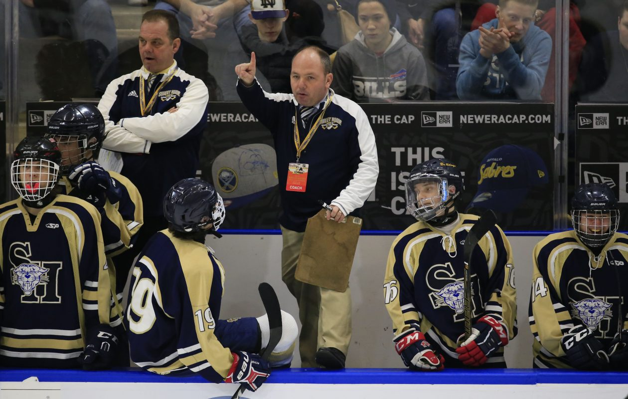 Sweet Home coach Dave Gerspach: 'The longer power play and penalty kill will make a huge impact.' (Harry Scull Jr./News file photo)