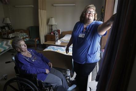 Inside Elderwood at Lancaster nursing home