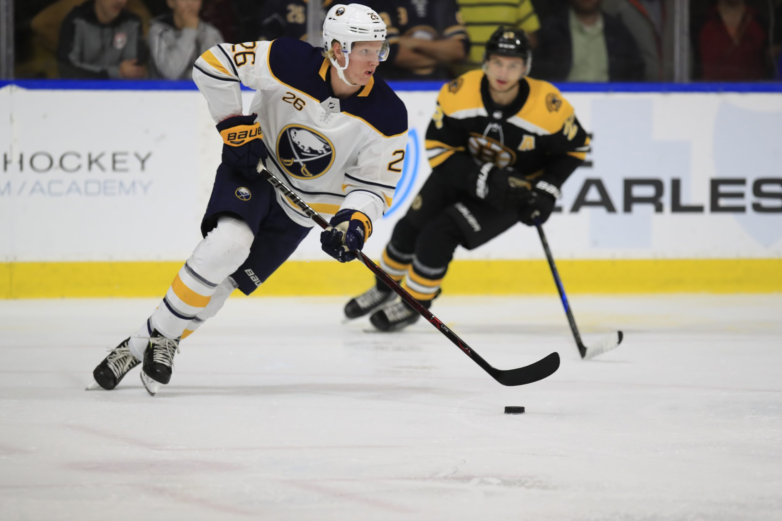 Sabres dahlin named nhl rookie of the month the buffalo for Fashion jobs hamburg