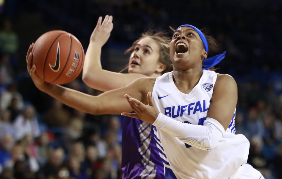 University at Buffalo guard Cierra Dillard scored 31 points Saturday against Kent State. (Harry Scull Jr./News file photo)