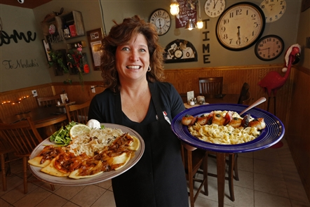 Morluski's Polish & Italian Cuisine, at 121 Prospect St. in Attica, is quirky in its decorative pink flamingos throughout the restaurant, but it also rolls out strong specials and classics such as potato pancakes.