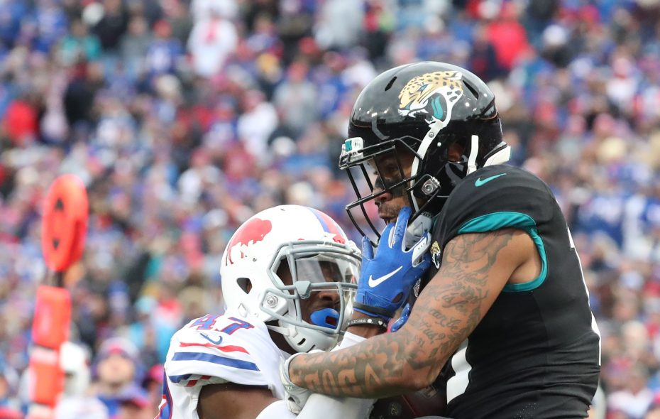 Bills rookie cornerback Levi Wallace made a strong impression over the final seven games of 2018. (James P. McCoy/Buffalo News)