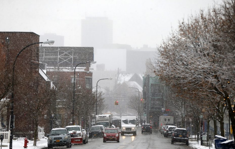 The weather models put out new information every few hours in some cases.  (Mark Mulville/Buffalo News)