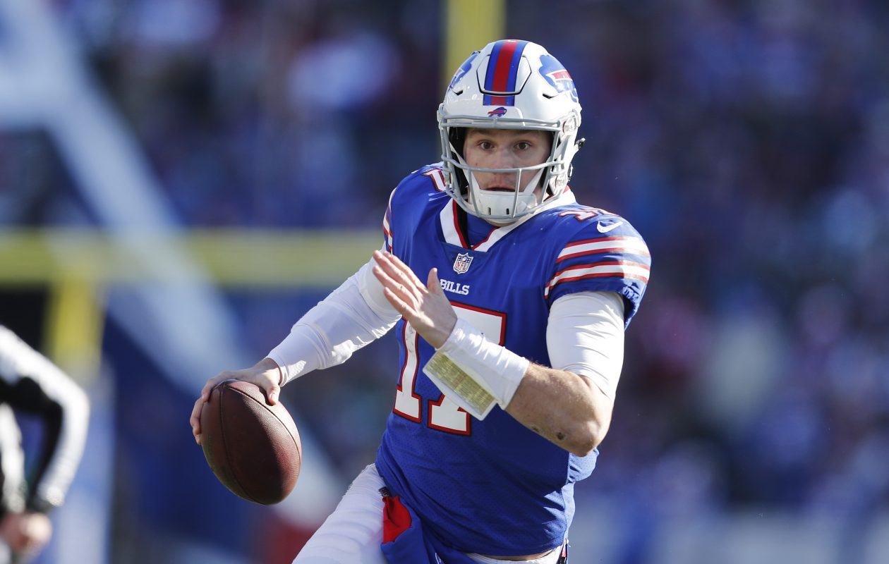 a9bc29df5b0 Josh Allen gave the Buffalo Bills a reason for optimism heading into 2019.  (Mark