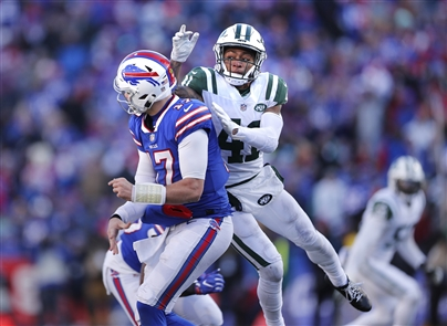 The Buffalo Bills host the New York Jets Sunday, Dec. 9, 2018, at New Era Field in Orchard Park.