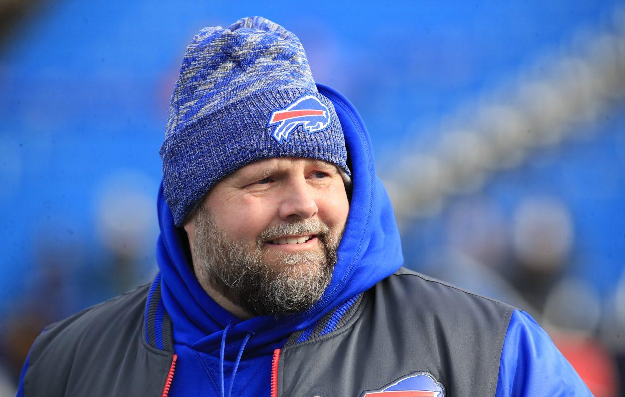Buffalo Bills offensive coordinator Brian Daboll. (Harry Scull Jr./Buffalo News)