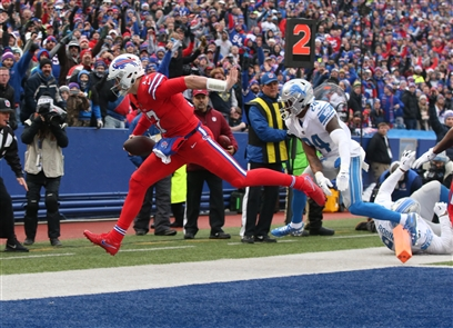 The Buffalo Bills beat the Detroit Lions, 14-13, on Sunday, Dec. 16, 2018, at New Era Field in Orchard Park.
