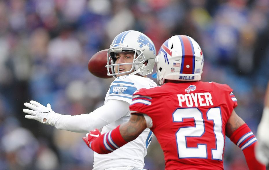 sports shoes 28f46 a8363 Bills' Jordan Poyer delivers consecutive tackles to stifle ...