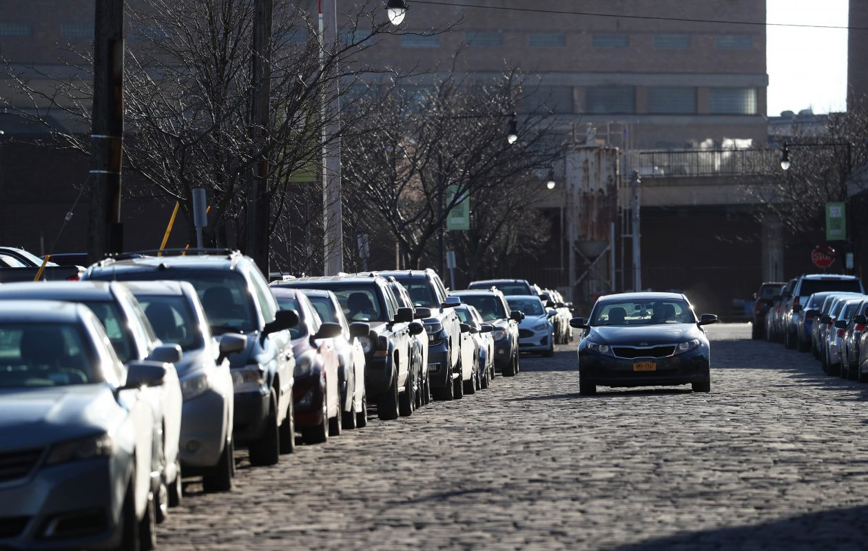 The Common Council is considering a proposal to add more metered parking spots and raise parking fees in  downtown Buffalo. (Sharon Cantillon/Buffalo News)