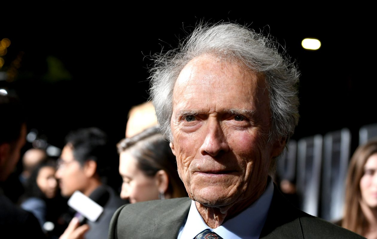 Clint Eastwood arrives at the premiere of Warner Bros. Pictures' 'The Mule'  in Los Angeles. (Getty Images)