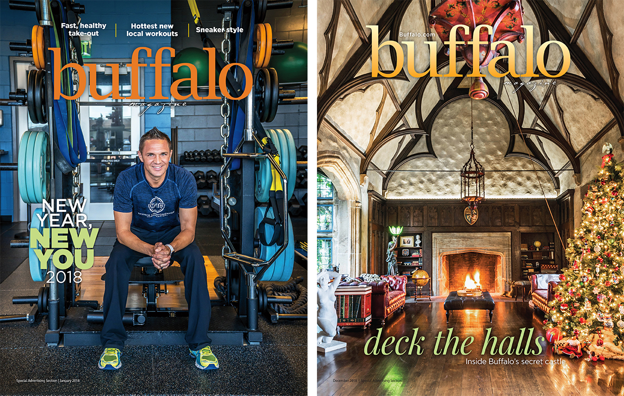 Buffalo Magazine 2018 covers