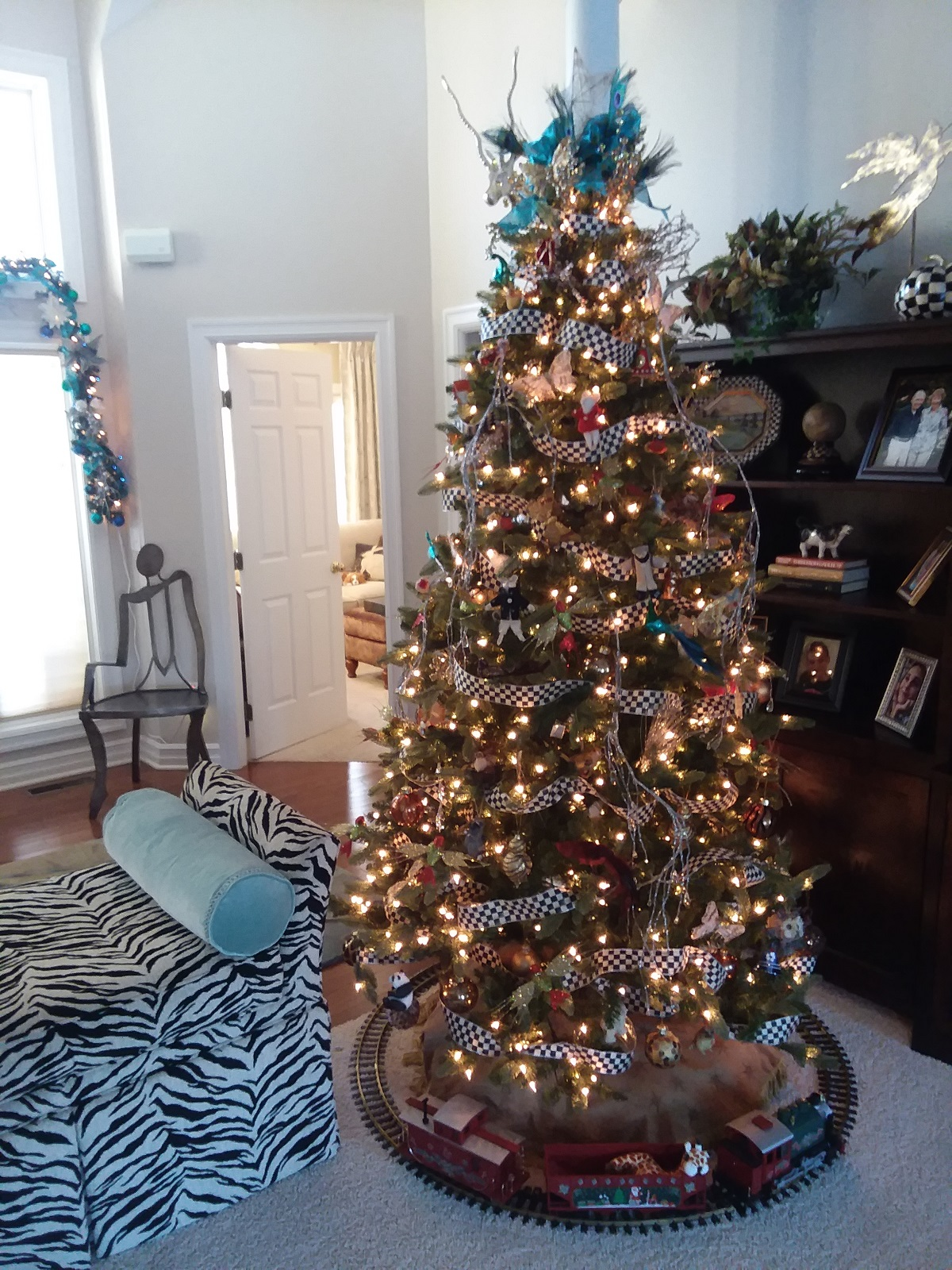Pamela and Ray Witte downsized to a ranch-style home a couple years ago. Here is how it looks decorated for Christmas.