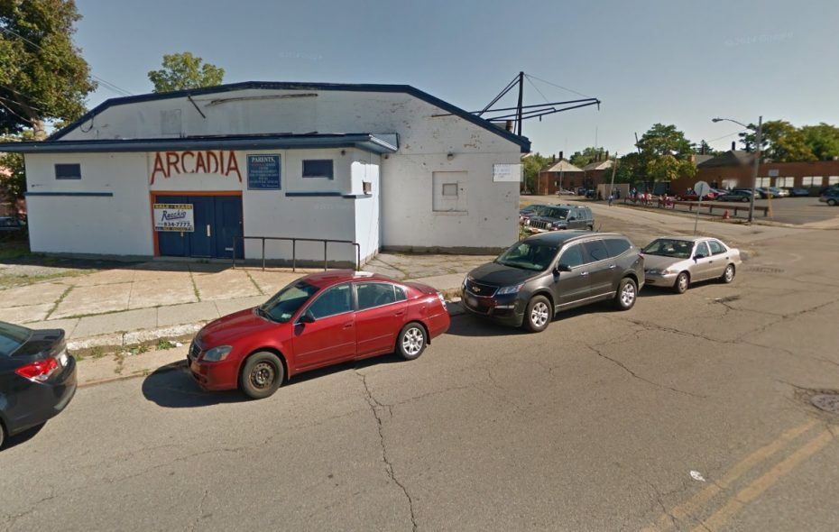 The former Arcadia Roller Rink may soon be the Zone One Entertainment Complex. (Google)