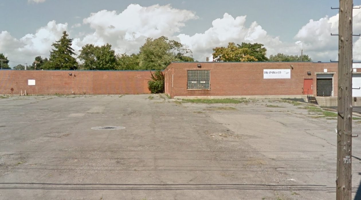 This industrial property at 714 Northland will be acquired by the Buffalo Urban Development Corp. as part of the Northland Corridor hub. (Google Maps)