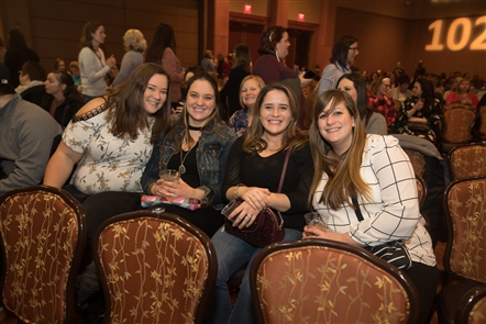 Former boy band heartthrobs 98 Degrees were back with a decidedly different vibe, playing a Christmas show on Friday, Dec. 14, 2018, in the Seneca Niagara Events Center. See the fans who came out and shots of the band.