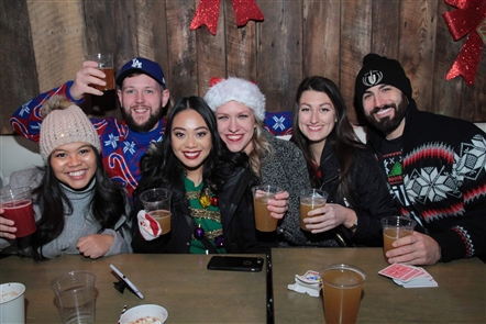 The Allen Degenerates and Aircraft handled the music responsibilities at Thin Man Brewery's Christmas street party, the Elmwood Avenue hot-spot's third street party of the year, on Saturday, Dec. 8, 2018.