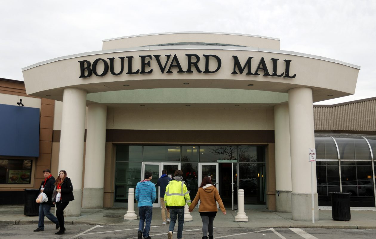 Amherst officials are trying to spur interest in the Boulevard Mall, which is likely to go up for auction this spring. (Mark Mulville/Buffalo News)