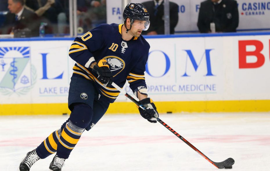 Patrik Berglund is now an unrestricted free agent. (Getty Images)