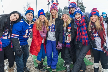 Bills fans looked forward to seeing the continued progress of rookie quarterback Josh Allen on Sunday, Dec. 9, 2018, at New Era Field where the Bills took on the New York Jets. See the fans who tailgated before the game.