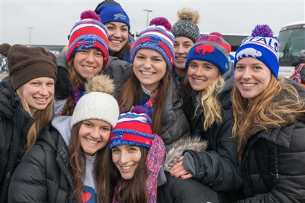 While the playoffs aren't in the Bills future, fans still cherished one of eight tailgate opportunities each year when the Lions visited New Era Field on Sunday, Dec. 16, 2018.