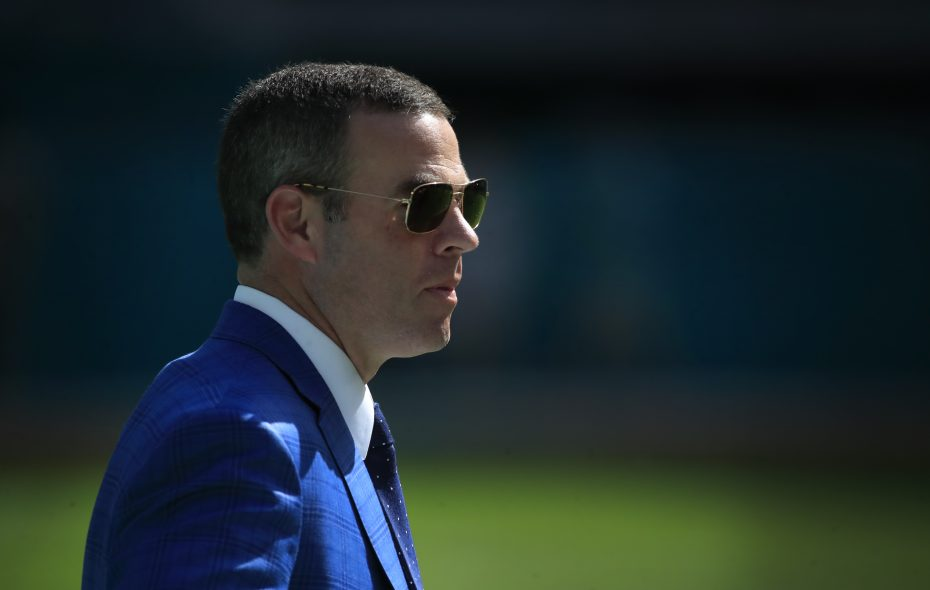 Bills General Manager Brandon Beane has more than $75 million to spend when free agency officially opens Wednesday. (Harry Scull Jr./News file photo)