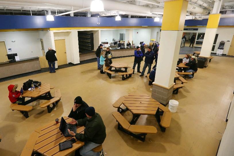 The concession area at Cornerstone Arena in Lockport. (Buffalo News file photo)