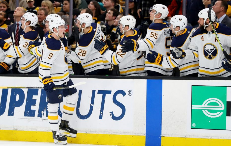 The Jack Eichel Show is getting the attention of more television viewers. (Maddie Meyer/Getty Images)